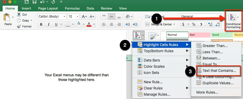 ToTheWeb - Using Excel's Conditional Formatting with Google Webmaster Tools