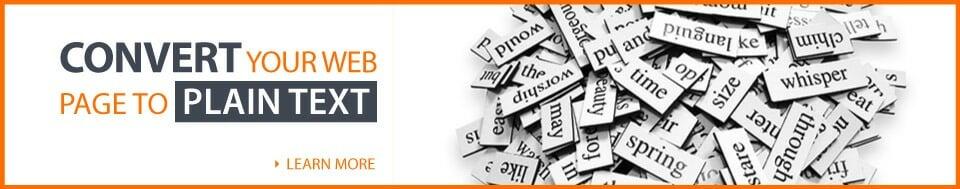 CTA-convert-html-web-content-text-to-plain-text-full-width