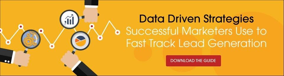 Data Drive Strategies to Fast Track B2B Lead Generation