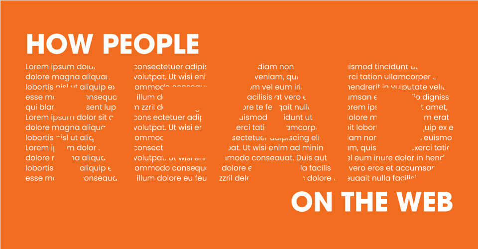totheweb-How-People-Read-Header-Orange